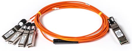 Orange optics cables